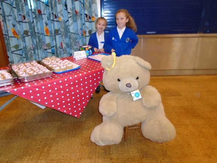 School Council selling cakes for Children in Need