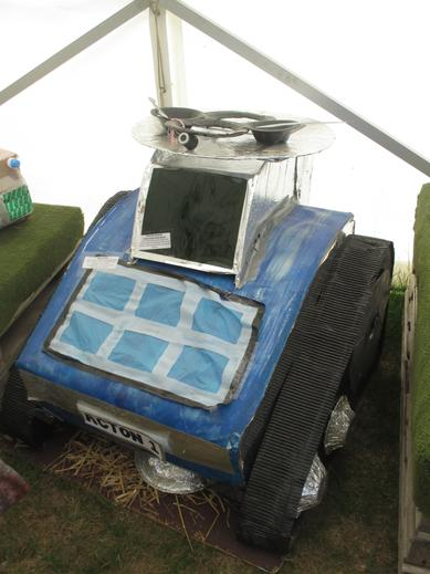 The tractor that got us into the Semi-Final