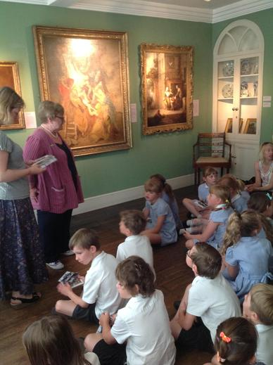 Learning about Thomas Gainsborough