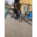 Cycling in year 4