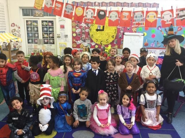 World Book Day 2020 - Reception class