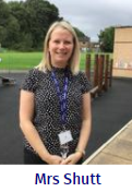 Mrs Shutt - Early Years Lead and Reception Teacher