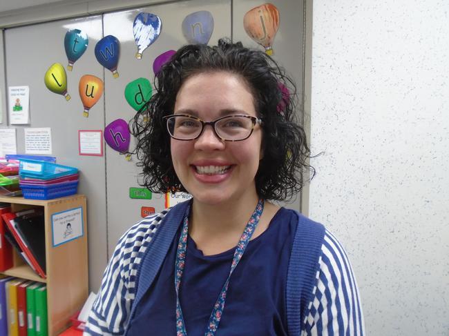Mrs McWilliam, Teacher on Friday