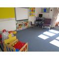 Our carpet area.