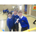 Our winning rocket builders!