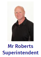We learn all about Mr Robert's role and how he support us in school