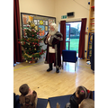 A visit from THE Father Christmas