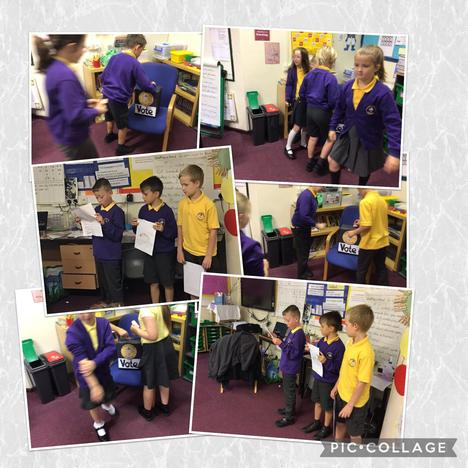 Voting for our Eco reps.