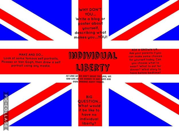 Monday's British Value is Individual Liberty