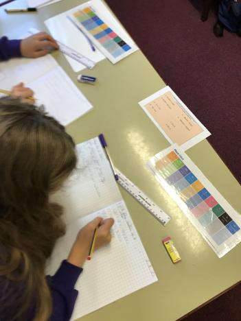 The children have been hard at work getting to grips with numbers up to 10 million.