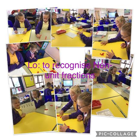 1.7.21  Today we have enjoyed learning about non-unit fractions and equivalent fractions.