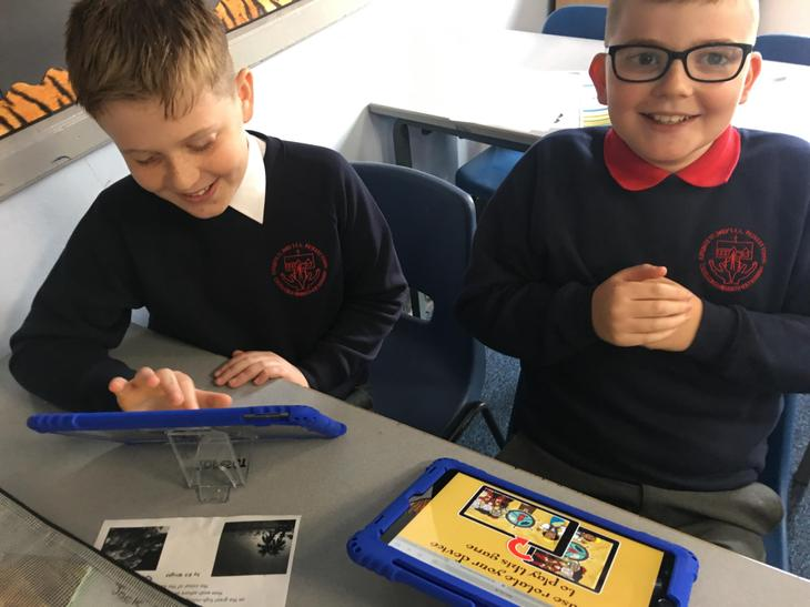 Who knew spelling could be such fun?  Well done boys