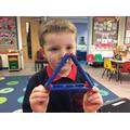 Exploring shapes!