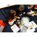 We looked at and discussed different artefacts.