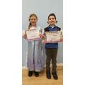 Year 2 costume winners