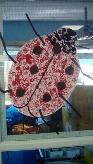 Group A made a giant Ladybird