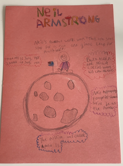 Adam's great research about Neil Armstrong