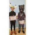 Year 3 costume winners