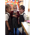 Our class caterpillars