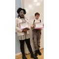 Year 6 costume winners