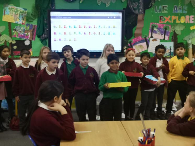 We created our own pizza brands  and pizzas.