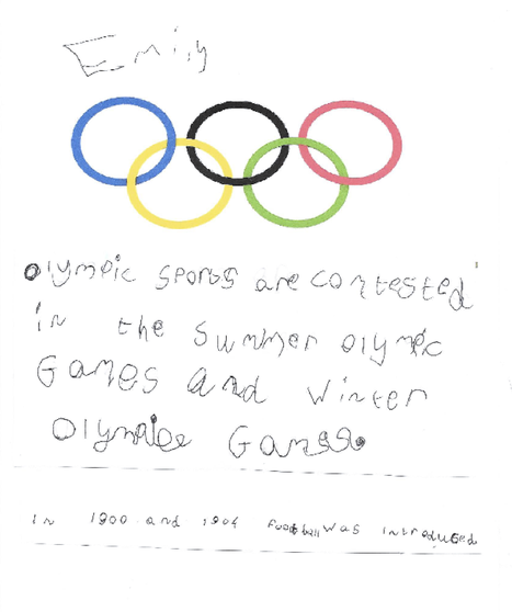Emily's Olympic research