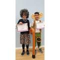 Year 5 costume winners