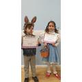 Reception costume winners