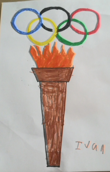 A really good Olympic torch from Ivan