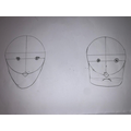 Initial face shapes.