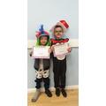 Year 1 costume winners
