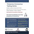 Temporary Testing Centre