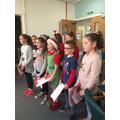 The choir at Garth Wen