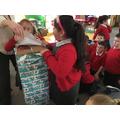 Santa delivered a suprise!