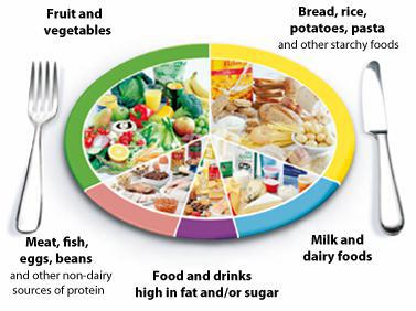 This shows the balance of foods we should eat.