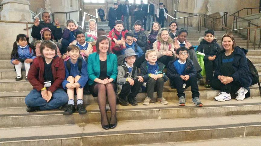 School Council visit to Parliament.
