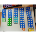 Using Numicon to make numbers in different ways