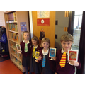 ... and then made ties to match our house colours.