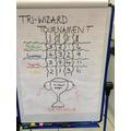 Gryffindor won our Tri-wizard Tournament!