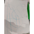 Jayden's portrait of a monster from his book