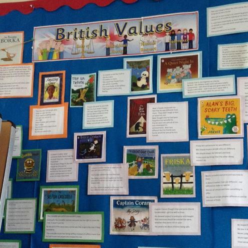 British Values assemblies through stories