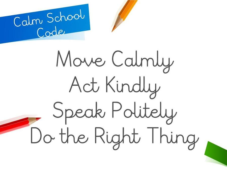 Calm School Code