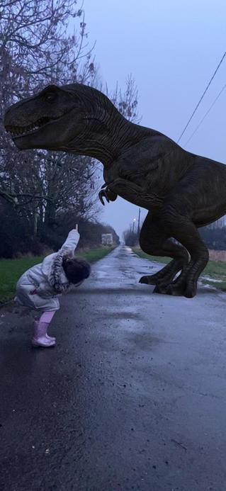 A T Rex!!!