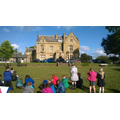 3/4F sketching Ryecroft Hall