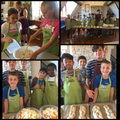 Peggy and Sue's Group make soup and bread