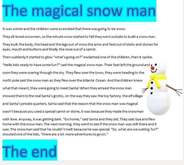 Leo's fantastic story