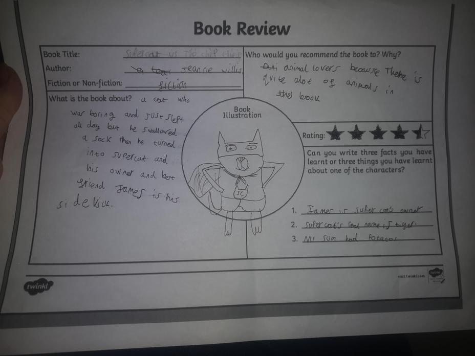 Take a look at our first book review by Abbie