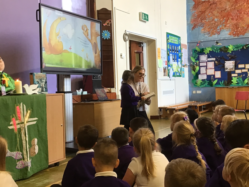 'Friendship is like a Seesaw' read by one of our Year 2 pupils.