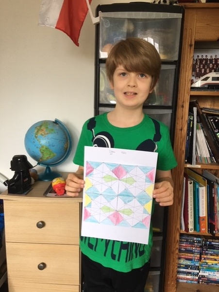 Joseph has made his Islamic Pattern