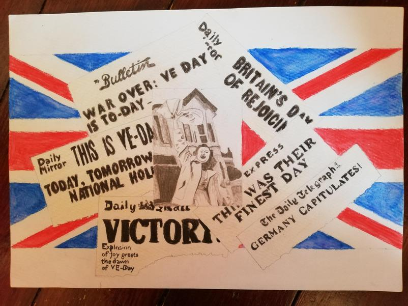 VE DAY by Serena